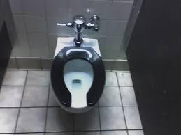Lift the toilet seat
