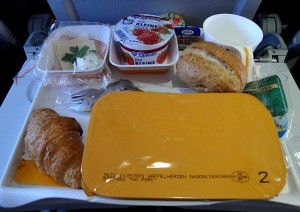 airplane meal options