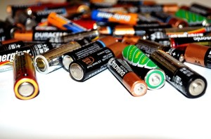 aa batteries for recycling