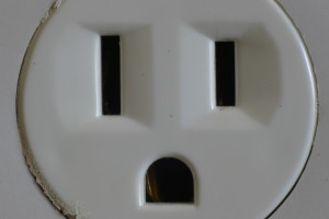 electrical outlet plug in